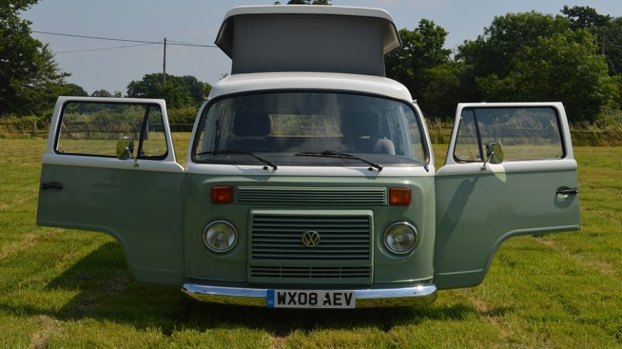 Enzo our Danbury VW T2 campervan